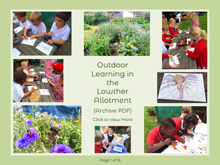 Outdoor Learning in the Allotment PDF Link