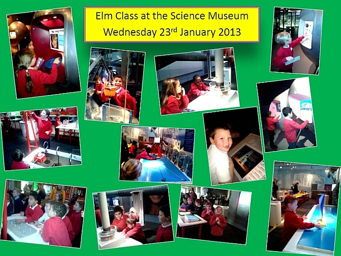 Elm Class at the Science Museum